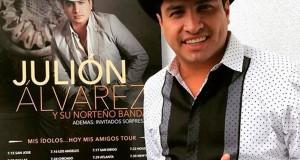 Julión Álvarez anuncia gira por EU