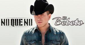 """El Bebeto en plena promoción de su más reciente disco titulado """"NO QUE NO"""""""