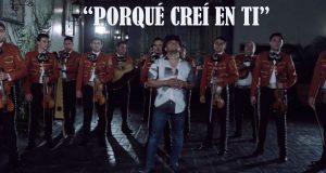 """Espinoza Paz dice """"Porqué Creí En Ti"""""""