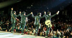 Grandes artistas se reunen en mega concierto en la frontera México-EU