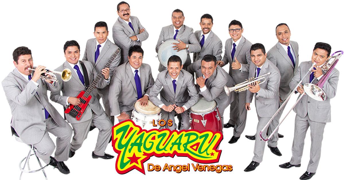 Los Yaguarú de Ángel Venegas