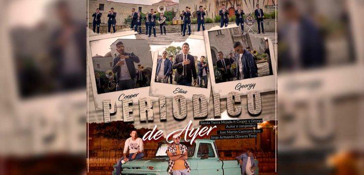 """Banda Tierra Mojada graba """"Periódico De Ayer"""" con Cooper y Georgy"""