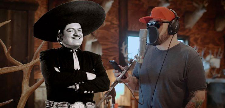 "Ricky Muñoz canta ""Serenata Huasteca"" con José Alfredo Jiménez"