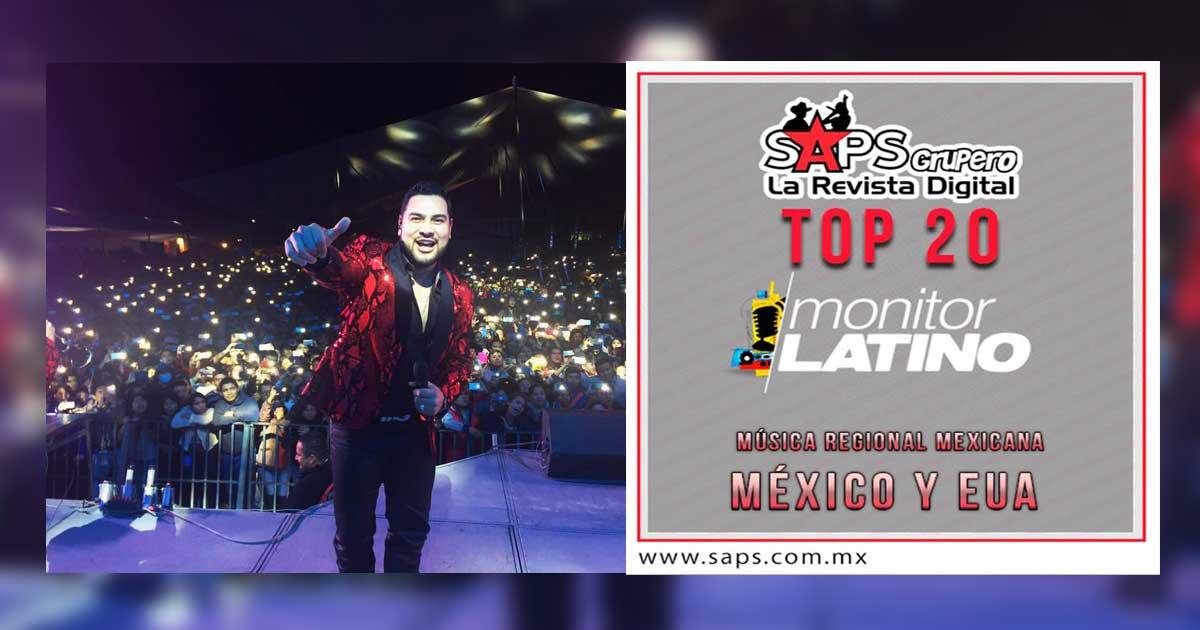 Top 20 México - Estados Unidos - monitorLATINO