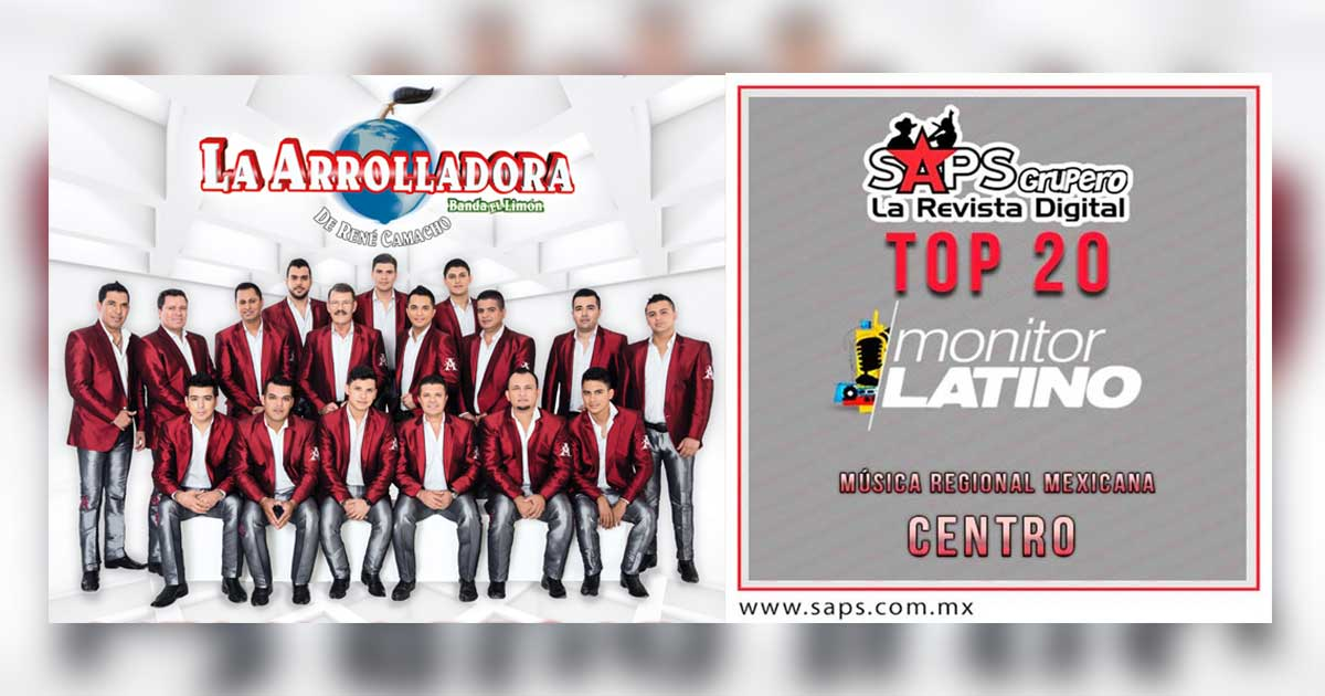 Top 20 Centro - monitorLATINO