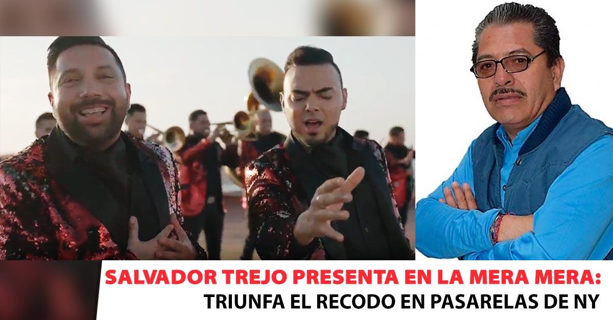 Salvador Trejo, Banda El Recodo