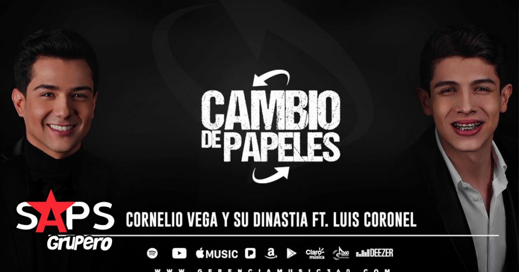 Cornelio Vega y Su Dinastia, Luis Coronel, Cambio De Papeles