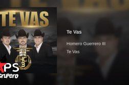 Homero Guerrero, Te vas