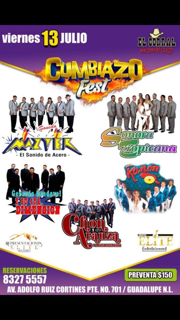 Cumbiazo Fest, Corral Western