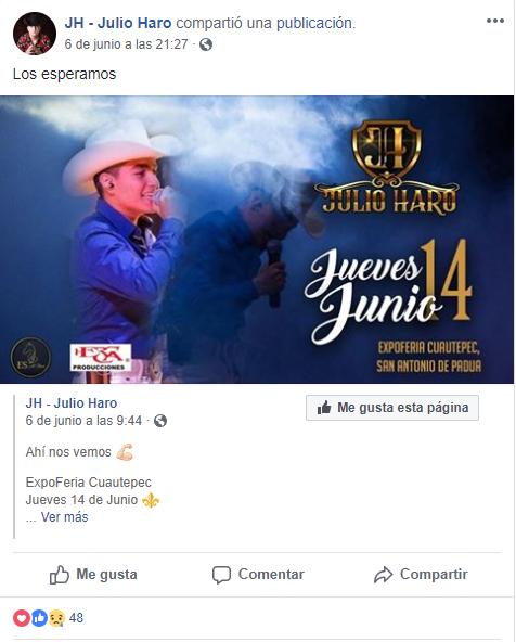 Julio Haro, Expo Feria Cuautepec