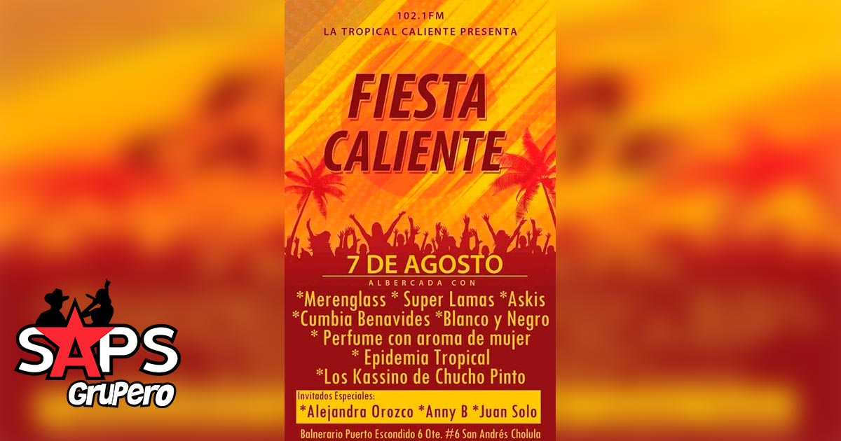 Fiesta Caliente, Tropical Caliente