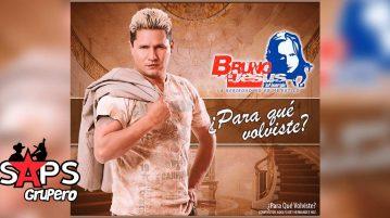 Bruno De Jesús, Para Qué Volviste