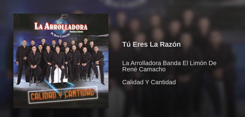Tú Eres La Razón, La Arrolladora Banda El Limón