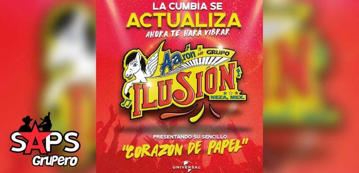 """Aarón y Su Grupo Ilusión tiene un """"Corazón De Papel"""""""