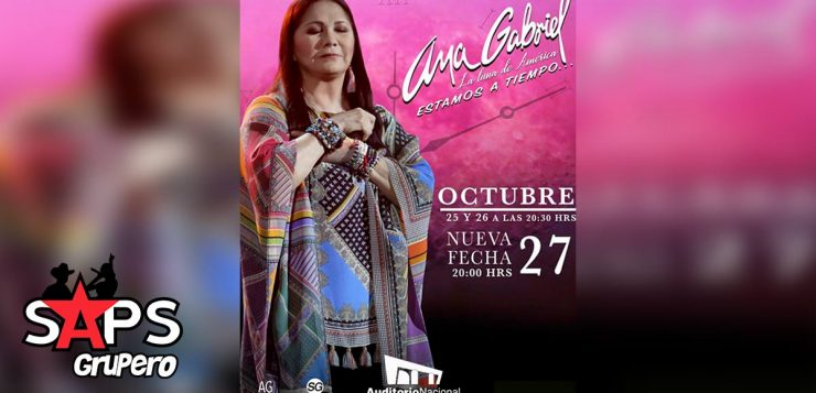 Ana Gabriel, Auditorio Nacional