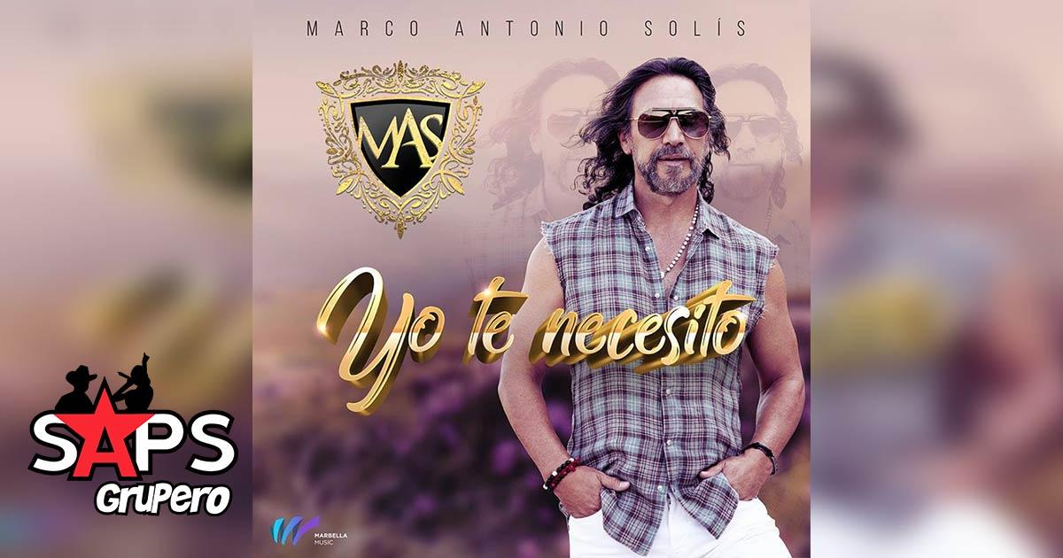Marco Antonio Solís, Yo Te Necesito