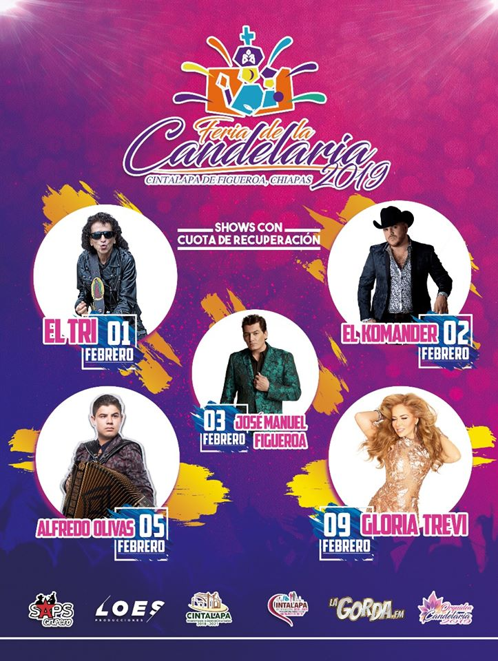 Feria Candelaria 2019 Cintalapa