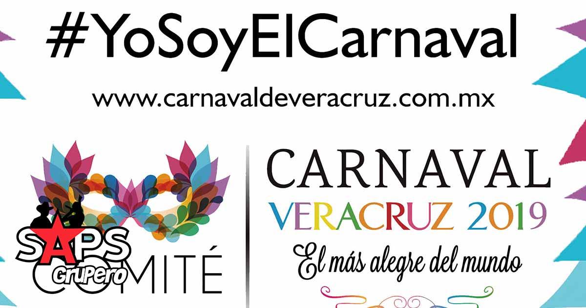 carnaval veracruz 2019, cartelera oficial