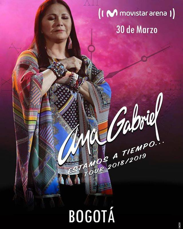 Ana Gabriel, Colombia