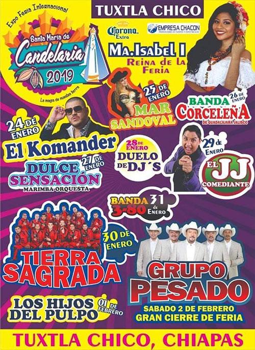 Expo Feria Internacional, Tuxtla Chico 2019