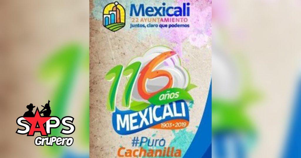 116 años de la fundación de mexicali, cartelera oficial