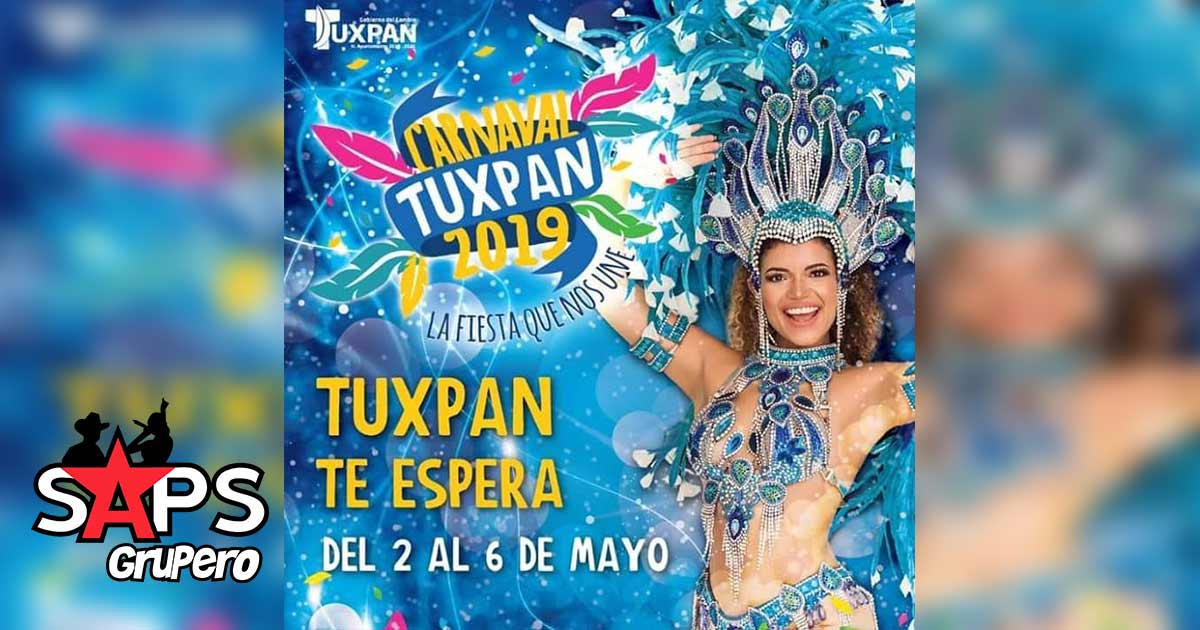 Carnaval Tuxpan 2019, Cartelera Oficial