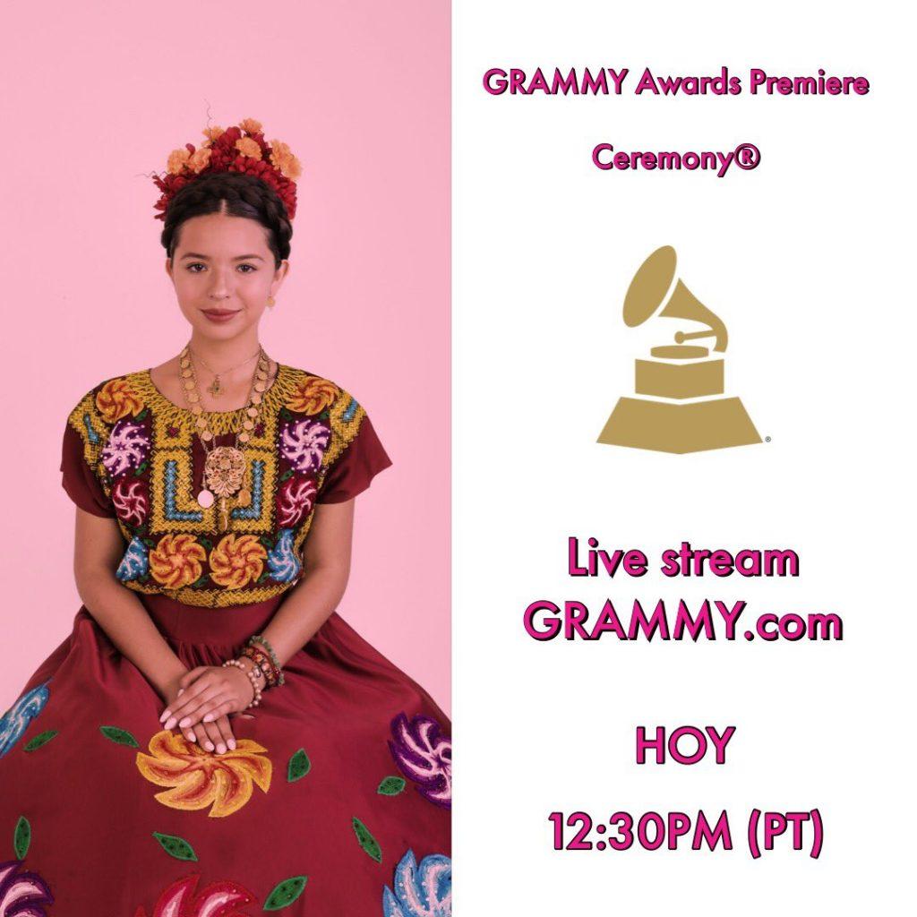 Ángela Aguilar, Grammy