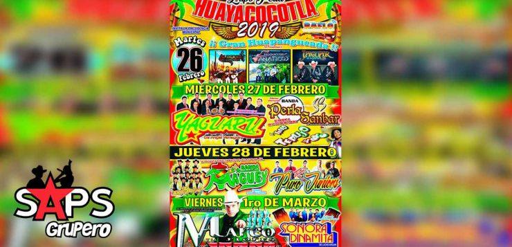 Expo Feria Huayacocotla, Cartelera Oficial