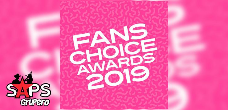 Arrancan las votaciones para los Fans Choice Awards 2019