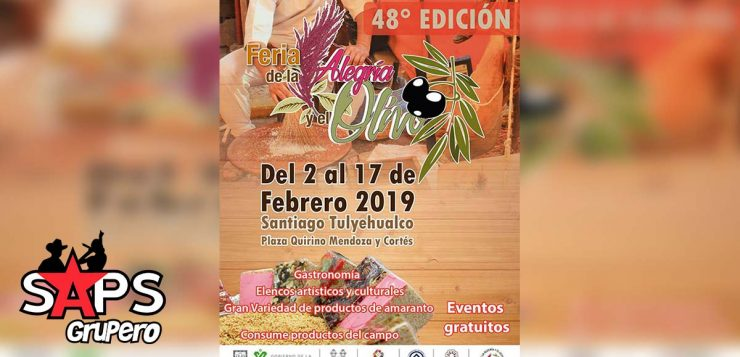 Feria de la Alegría y el Olivo, Cartelera Oficial