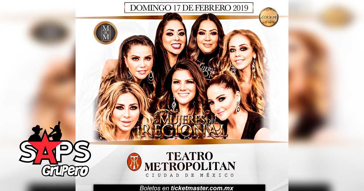 Mujeres del Regional Mexicano, Teatro Metropolitan