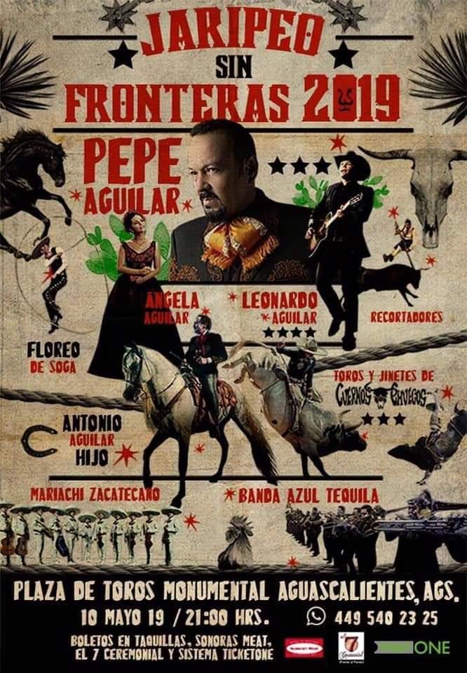 Jaripeo Sin Fronteras 2019, Aguascalientes