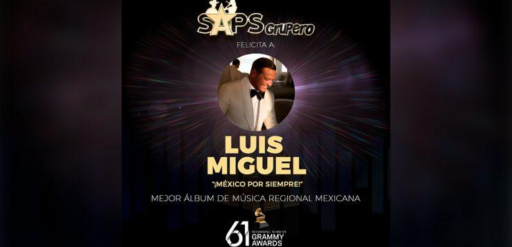 Luis Miguel, Grammy 2019