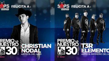 premios lo nuestro 2019, regional mexicano