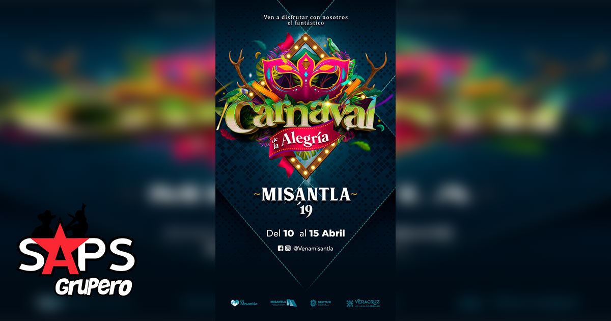 Carnaval Misantla 2019, Cartelera Oficial