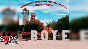 Feria Boyé 2019, Cartelera Oficial