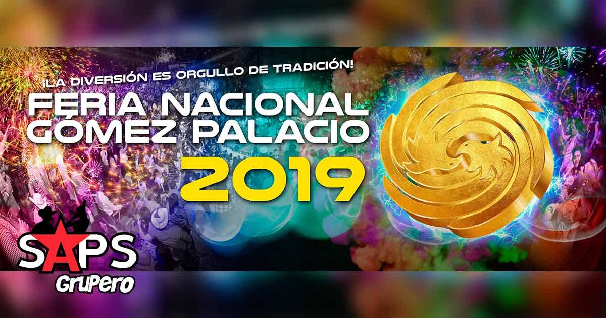 Feria Nacional Gómez Palacio 2019, Cartelera Oficial