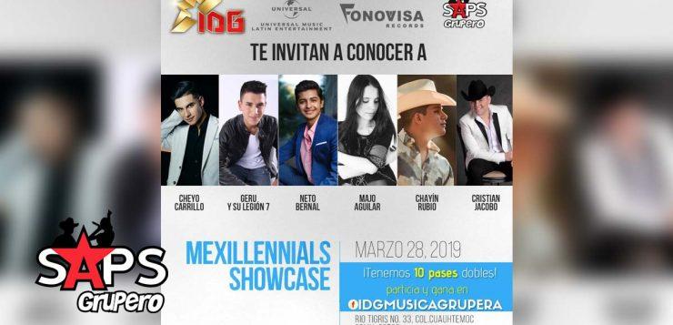 SAPS Grupero e IDG Patrones te regalan pases dobles para el Mexillenials Showcase