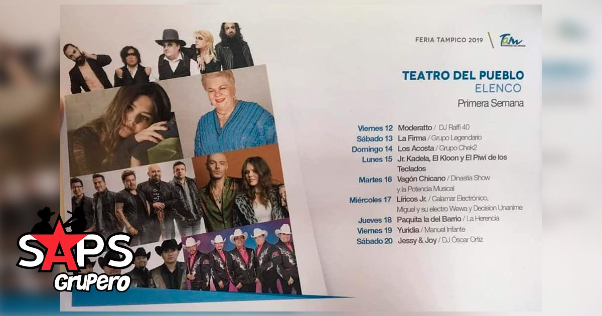 Regional Mexicano, Feria Tampico 2019