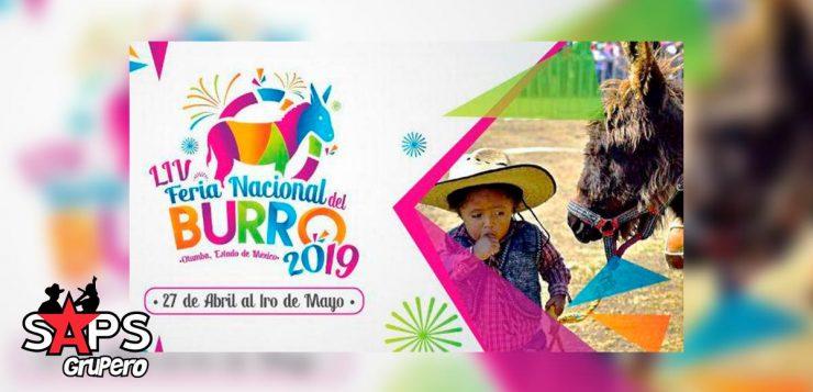 Feria Nacional del Burro 2019, Cartelera Oficial