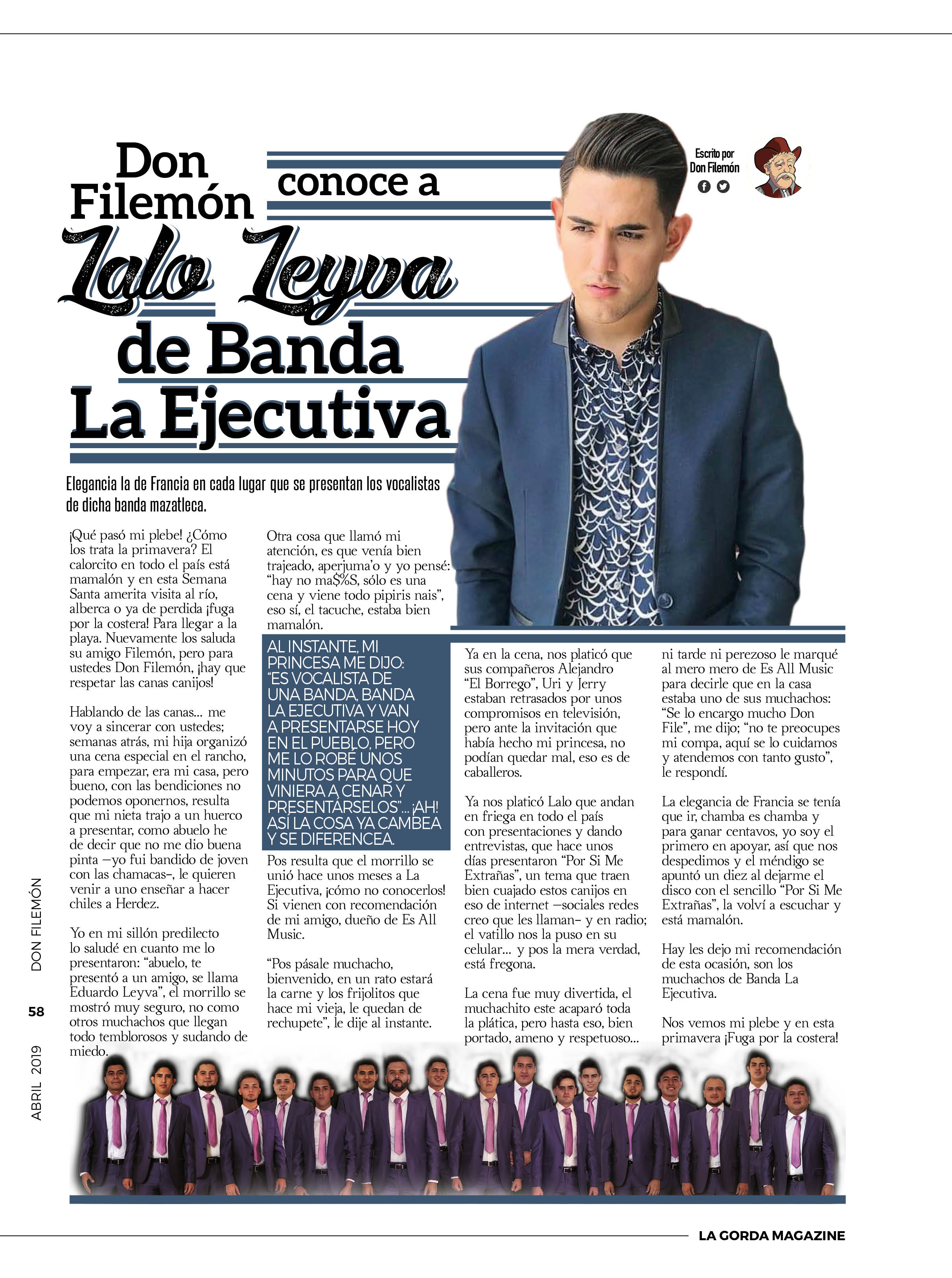 Don Filemón - Eduardo Leyva