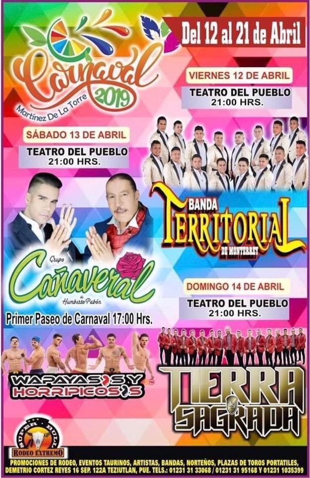 Carnaval Martínez de la Torre 2019
