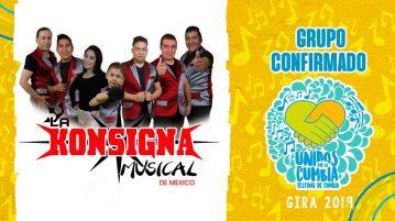 la konsigna musical de méxico, festival unidos por la cumbia