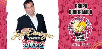 Jorge Domínguez, confirmado al Festival Unidos Por La Cumbia en Veracruz