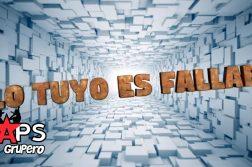 LO TUYO ES FALLAR, CLAUDIO ALCARAZ,