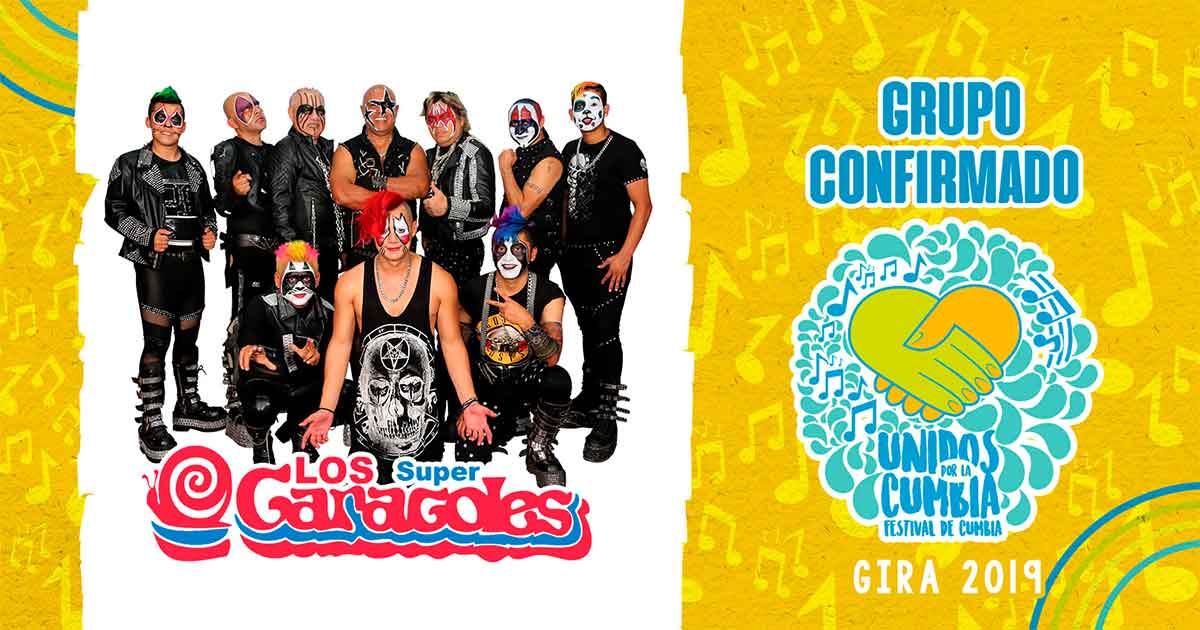 los súper caracoles, festival unidos por la cumbia