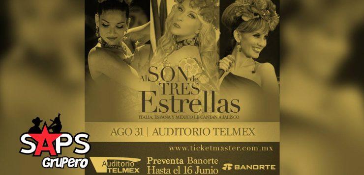Yuri, Filippa Giordano y Natalia Jiménez unidas por el mariachi