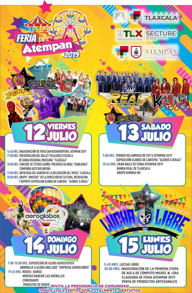 Feria San Buenaventura Atempan