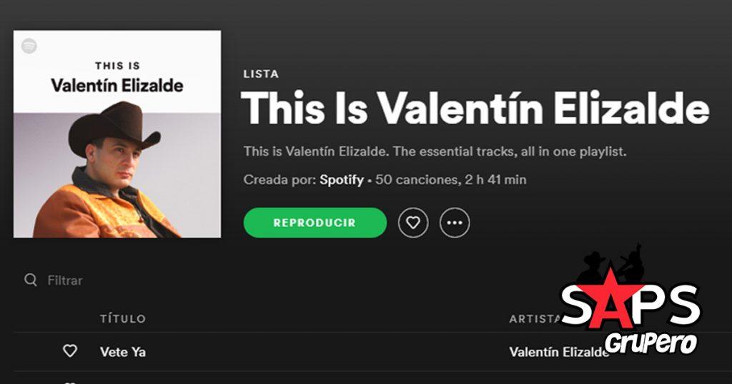 VALENTÍN ELIZALDE, SPOTIFY
