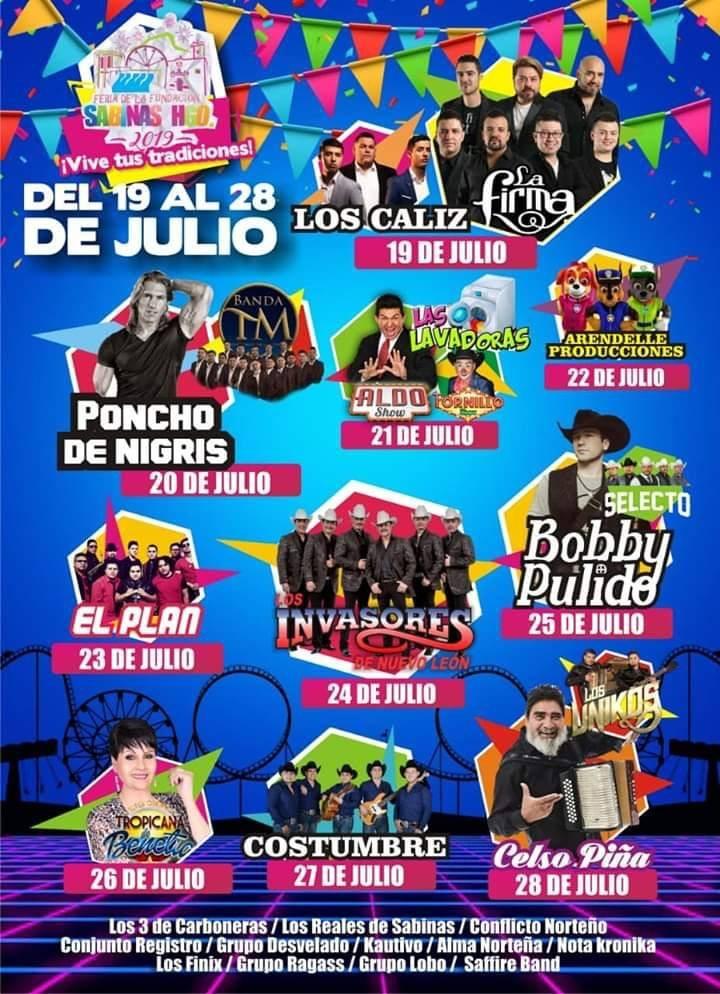 Fiestas de la Fundación, Sabinas Hidalgo